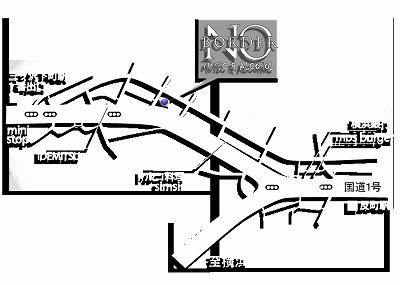 反町No Border地図